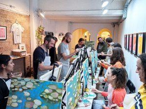 ENCOPARTE, arte y copas! @ Consell 81 | Barcelona | Catalunya | España
