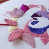 taller de bordado creativo