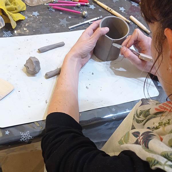 taller de cerámica experimental