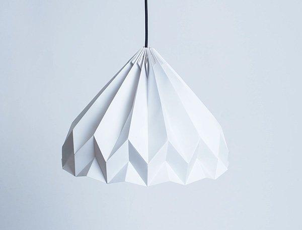 taller làmpara de origami
