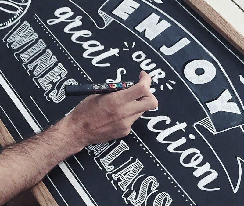 workshop rotulación de pizarras