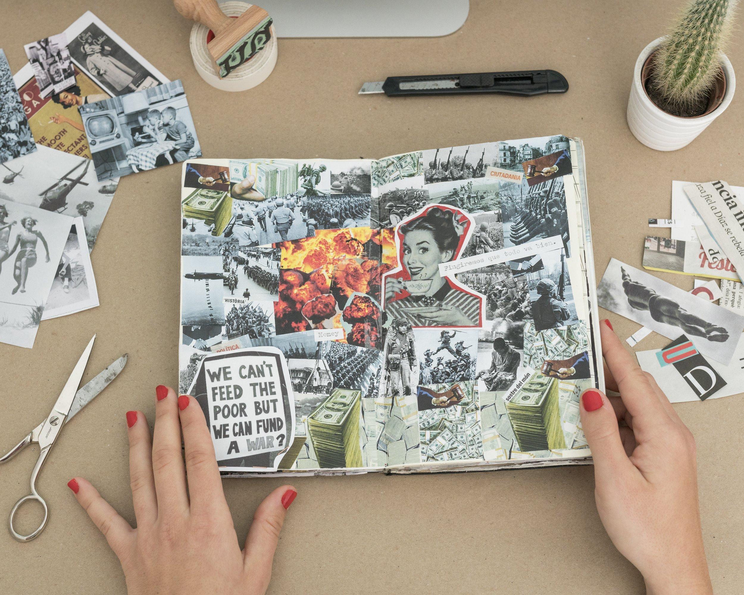 workshop collage