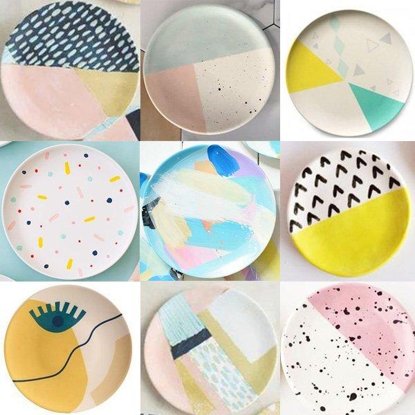 Personaliza tu plato decorativo