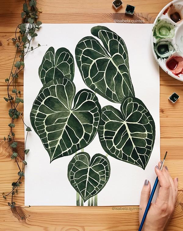 Taller de acuarela botánica